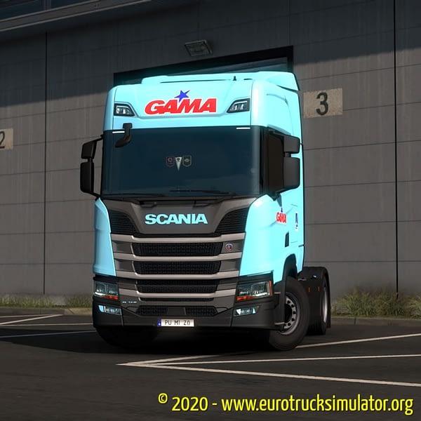 ETS2 Scania S TransGama 3