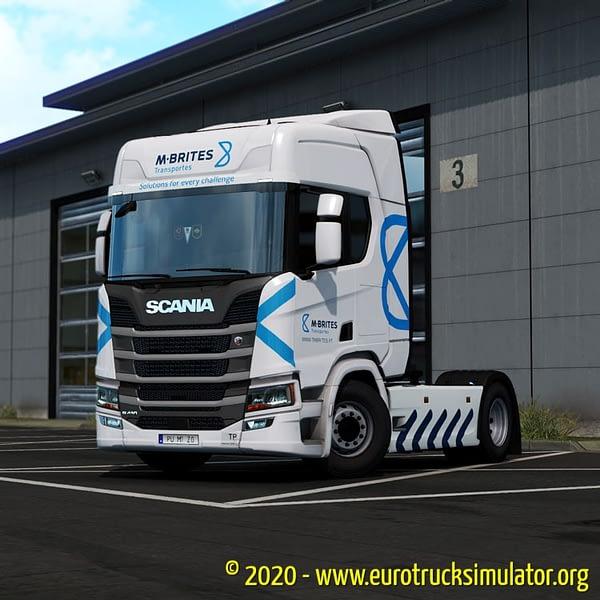 ETS2 Scania R Machado e Brites 1